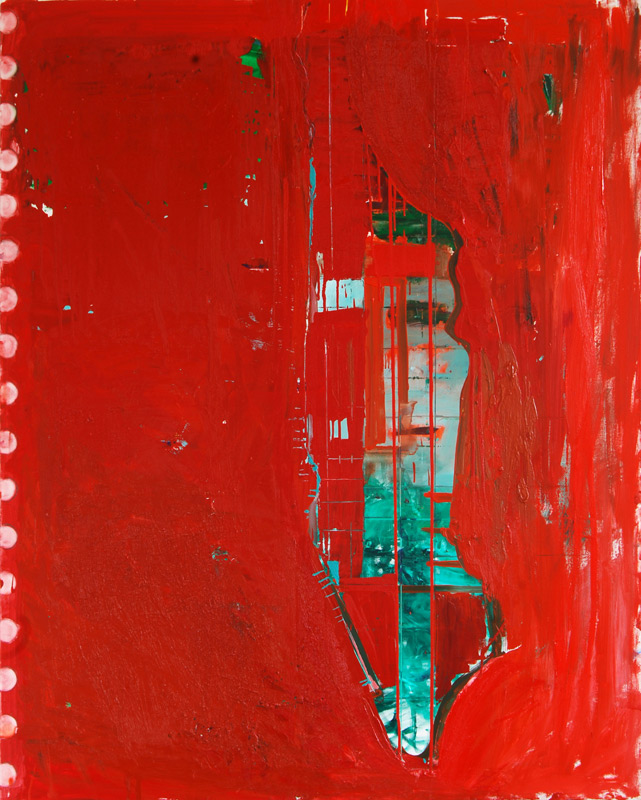 City of Glass 8 The Red Notebook 150x120cms