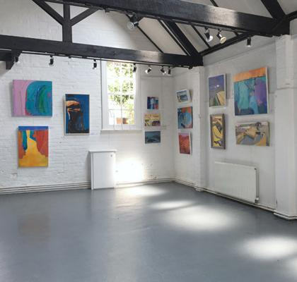 'Cornwall, Colour & Coast' exhibition at The Old Fire Station Gallery, Henley...